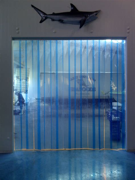 vinyl air curtains coldstorage cold rooms freezers processing facility