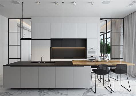 Kitchens Furniture 40 Beautiful Black White Kitchen Designs Assess Myhome