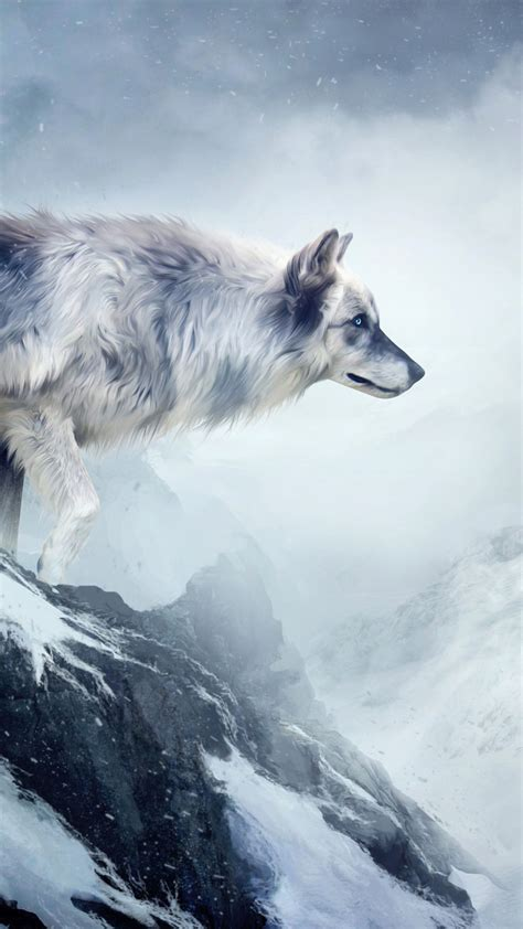 wallpaper wolf  hd wallpaper mountain girl animals