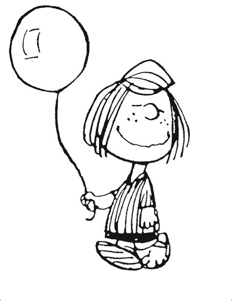 Coloring Pictures Of Peppermint Patty Coloring Pages Coloring Page Peanuts