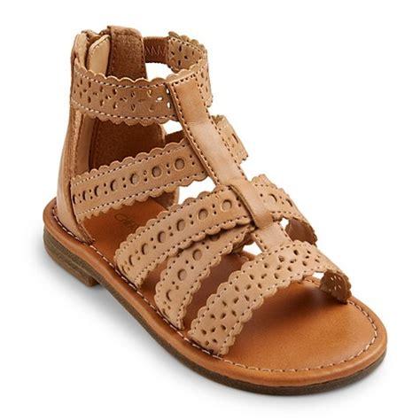 gladiator sandals toddler toddler girl s 174 keeley gladiator sandals target