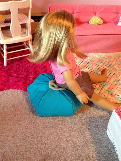 ag doll bean bag chair 101 best images about american doll on