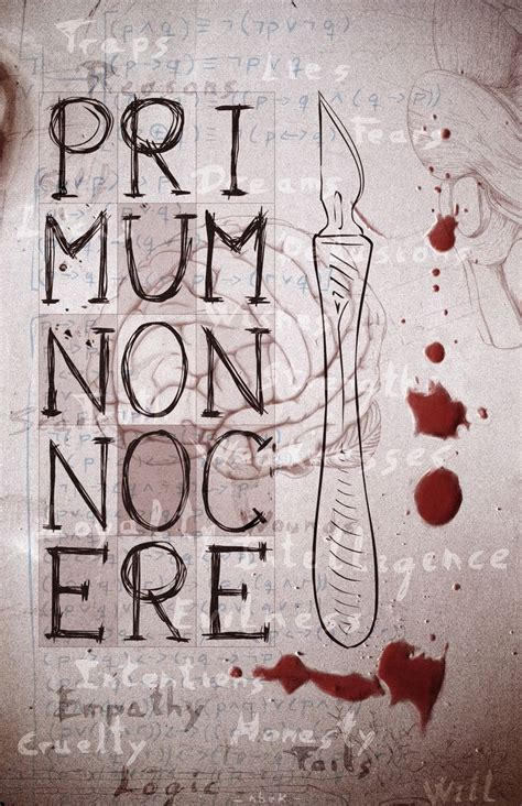 primum non nocere quot first do no harm quot the principle