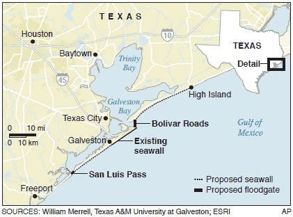 texas islands map ike proposed along texas coast weather nbc news
