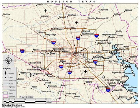 houston texas map maps map of houston tx