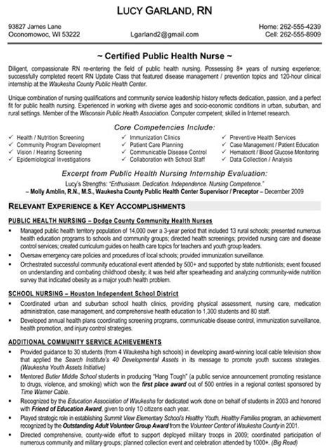 health resume sles free resumes tips