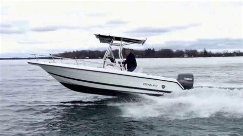 century cc boats 1997 20 century 2100cc youtube