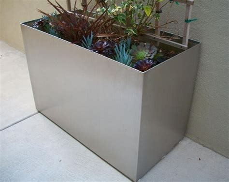 planter box galvanized sheet rectangular planter box buy