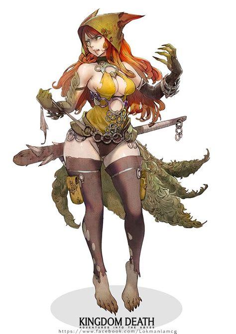 ringtail vixen kingdom death wiki fandom