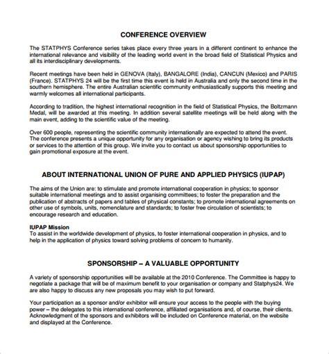 cover letter sponsorship proposal sample 2