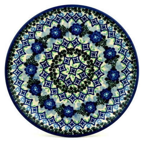 polish pottery dinner plate pattern number 233ar polmedia polish pottery stoneware mom blog society