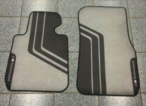 Bmw M Floor Mats 1 Series Genuine Original Bmw M Performance Floor Mats F30 F31 3