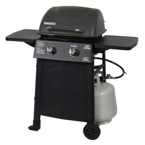 brinkmann 2 burner propane gas grill