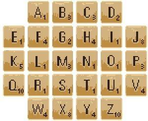 Grille De Scrabble by Point De Croix Rummikub Et Triominos Et Scrabble