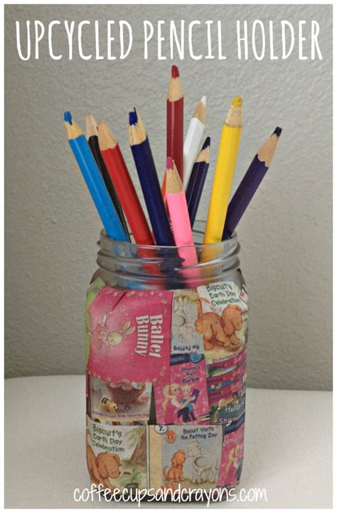 pencil holder craft ideas for easy craft upcycled pencil holder pencil holder