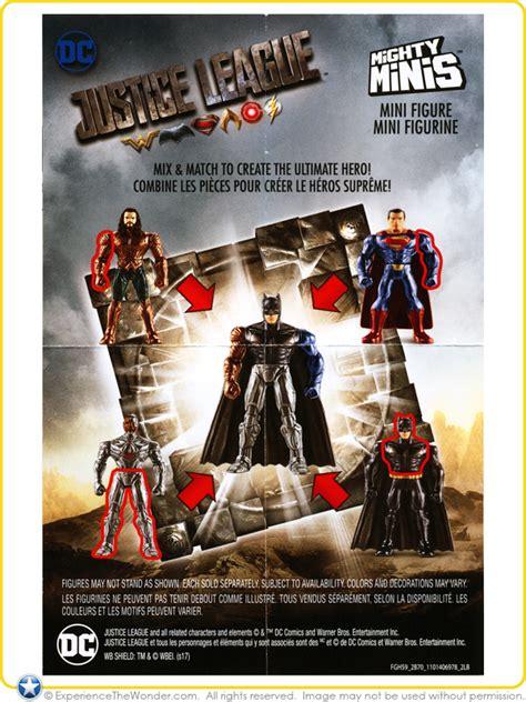 justice league film series mattel dc comics justice league movie mighty minis