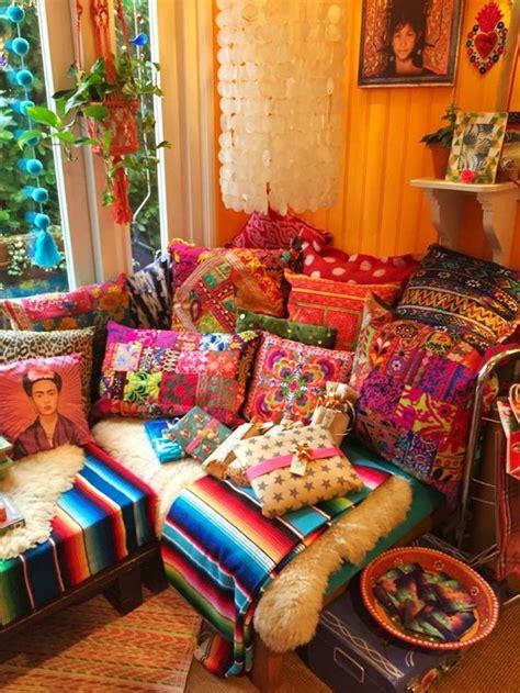 inspiring boho style home decor ideas  bohemian style