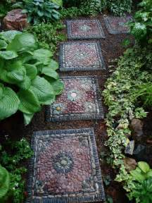brainstorm mosaic and recycled garden ideas