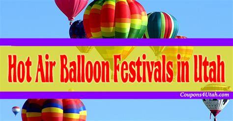 Calendar Coupons Utah Utah Air Balloon Festivals Coupons 4 Utah