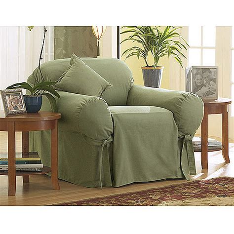 slipcovers at walmart sure fit cotton duck chair slipcover walmart com