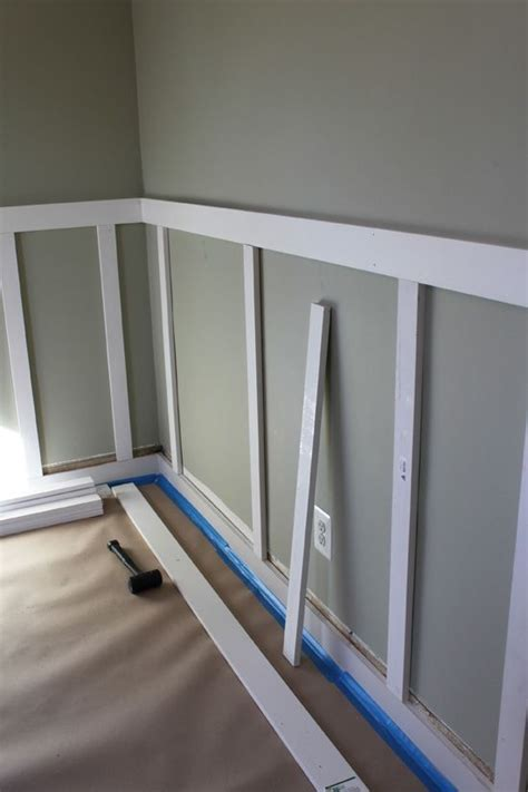 Cheap Wainscoting by Board And Batten Diy Replace Cheap Wainscot In Dining