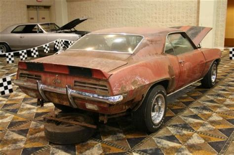 camaro rsz barn find information  collecting cars legendary collector cars