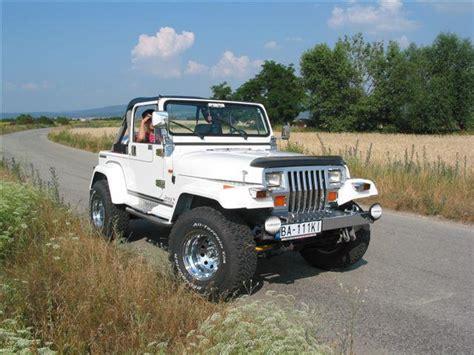 Jeep Wrangler Club 1990 Jeep Wrangler Yj Gasoline