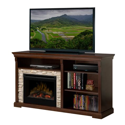 dimplex edgewood media console with electric fireplace