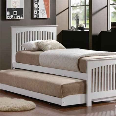 double trundle bed bedroom furniture double trundle bed for kids bedroom homesfeed