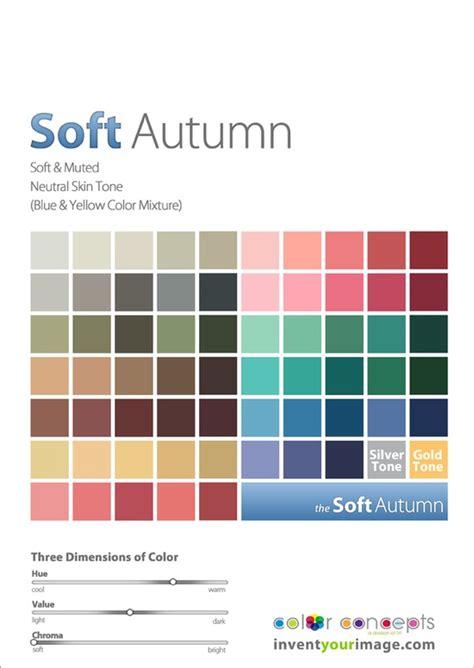 soft autumn palette soft autumn invent your image expressing your