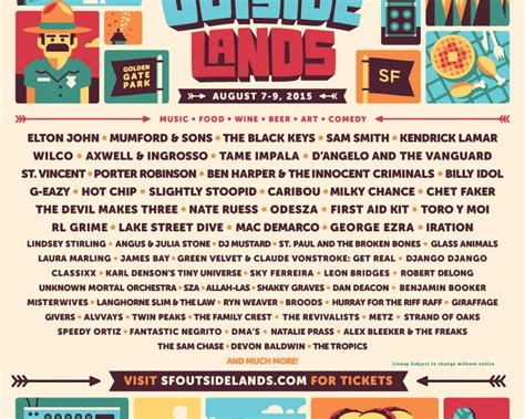 Kaos Lasvegas Black 24 outside lands reveals 2015 lineup edm
