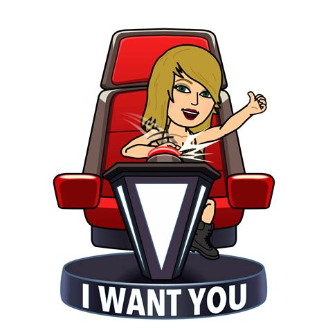 the voice chair the voice teams up with bitmoji for five playoffs