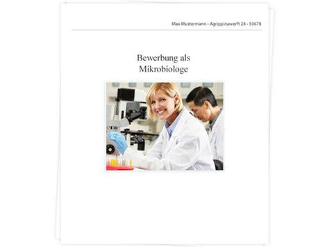 Abschlubnote Anschreiben Mikrobiologe Biologin Bewerbung Tipps Zu Anschreiben
