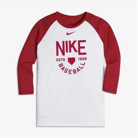 Bajukaost Shirt Nike Slevee 1 nike legend big boys 3 4 sleeve t shirt nike