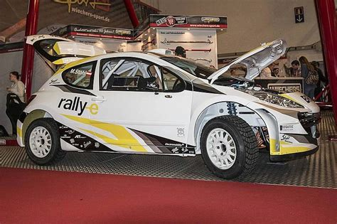 peugeot awd cars stohl racing reveal peugeot 207 s2000 awd electric rally