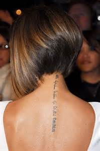 victoria beckham s neck tattoo tribute to david continues