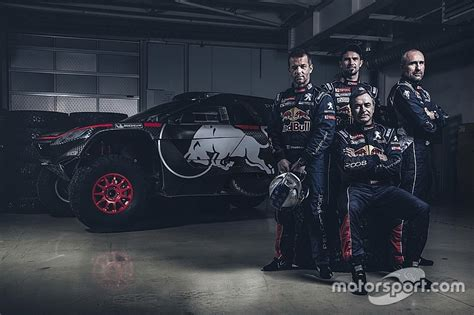 peugeot dakar 2016 loeb joins peugeot for 2016 dakar rally assault