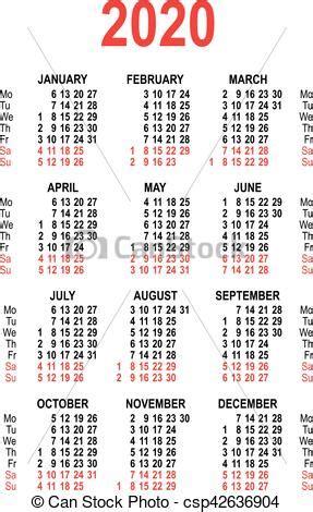 calendario cuadricula template aislado aislado ilustracion template vector