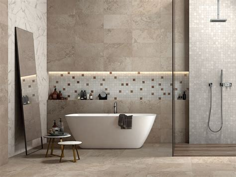 fliese 320x160 large size ceramic panels with rustic chic touch