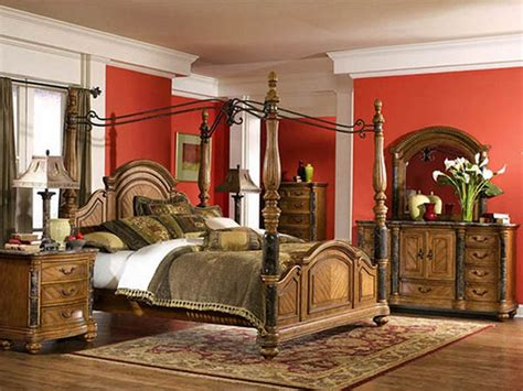 couple bedroom furniture romantic tuscan bedroom style
