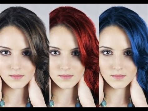 color hair changer change hair color with pixlr