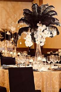 black and gold wedding theme 55 eye catching feather wedding ideas for 2016