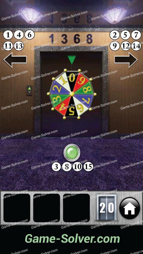 100doors lvl 4 100 doors 2013 level 20 game solver