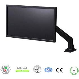 Telescopic Tv Bracket 1 3m Thick 400 X 400 Pitch For 26 55 Inch Tv acer led monitor 19 5 inch k202hqla black jakartanotebook