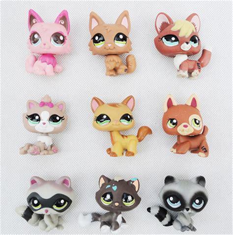 lps cats and dogs aliexpress buy original littlest pet shop 10pcs lot 4 6cm animal set pvc
