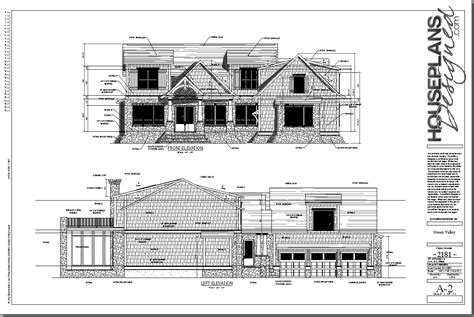 image gallery elevation plan