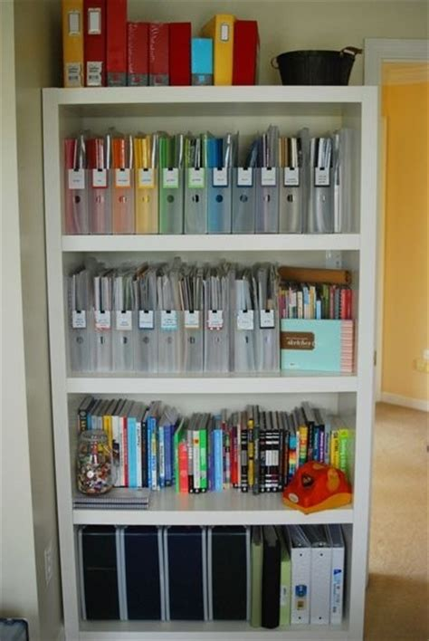 organizing scrapbook paper great craft rooms