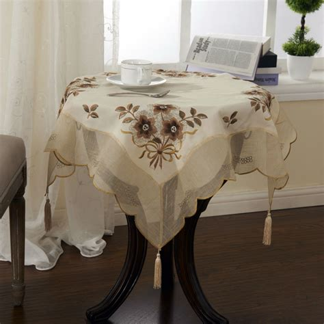 table toppers aliexpress buy organza table cloth 30x30 inches