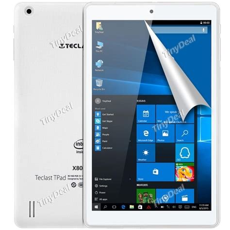 Tablet Teclast X80 Pro Dual Os Win10 Dan Android 5 1 Fhd 1920x1200 teclast x80 pro 8 win 10 android 5 1 z8350 2gb 32gb tablet