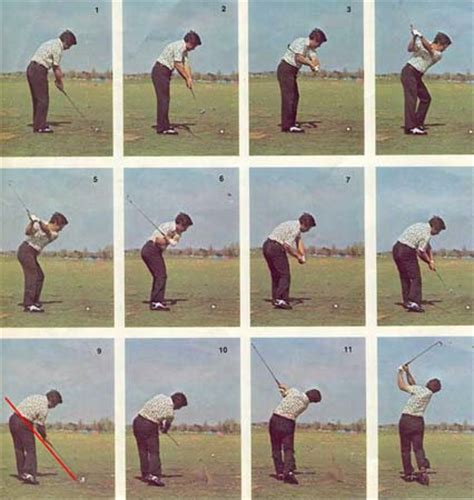 lee trevino swing tips shoulders at address rounded or back instruction and